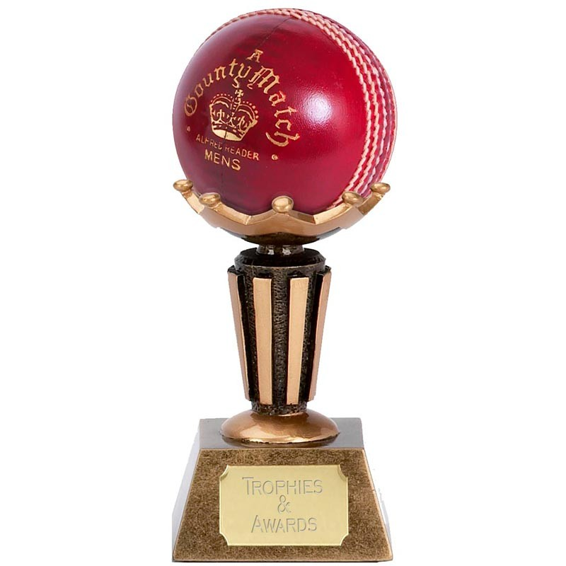 Cricket Ball DISPLAY STAND Trophy 4040 FREE ENGRAVING Bowler Custom Bowling Ball Display Stand