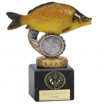 "COMMON CARP Fishing Trophy 4.75"" FREE ENGRAVING Angling Award"