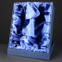 Satin Lined Gift Box for 2 Wine Glasses