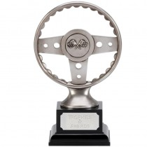 "MOTORSPORT Steering Wheel Trophy 6"" or 7.5"" FREE ENGRAVING Award New"