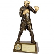 "BOXING Boxer Trophy 7.25"" or 8.75"" or 9.5"" or 10.5"" FREE ENGRAVING 4 Sizes Personalised Award"