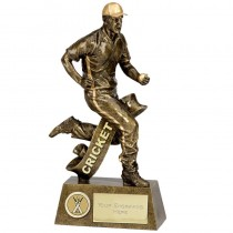 "CRICKET Fielder Cricketer TROPHY 3 Sizes 6"", 7.25"" or 9.5"" FREE ENGRAVING Personalised Fielding Award"