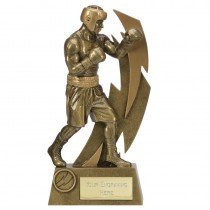 "BOXING Boxer Statuette Trophy 6.75"" to 10.5"" FREE ENGRAVING 2 Sizes Award"