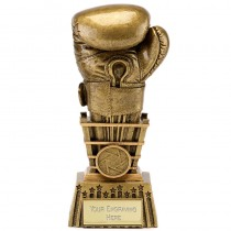 "BOXING Glove Trophy 6"", 6.5"", 7"" or 9"" FREE ENGRAVING 4 Sizes Personalised Award"