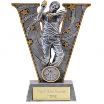 "CRICKET Bowler Cricketer Trophy 2 Sizes 6"" or 7.75"" FREE ENGRAVING Personalised Award"