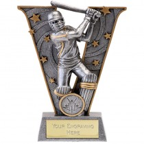 "CRICKET Batsman Cricketer TROPHY 2 Sizes 6"" or 7.75"" FREE ENGRAVING Personalised Award"