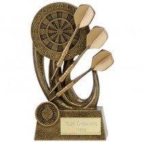 "DARTS Dartboard Trophy 4.5"" 5.5"" or 6.5"" FREE ENGRAVING Personalised Award"