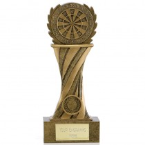 "DARTS Dartboard Trophy 5.5"" 7"" or 8.5"" FREE ENGRAVING Personalised Award"