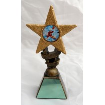 "CANOEING Star Trophy 2 Sizes 5.5"" or 6.75"" FREE ENGRAVING Canoeist"