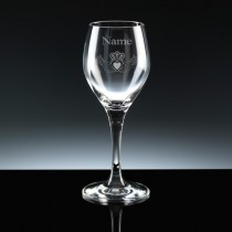 Personalised Cladagh Schott Zweisel Wine Glass Engraved - 3 Sizes