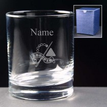 Personalised Engraved Snooker Whisky / Juice Glass