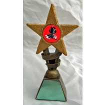 "TAP DANCE Star Trophy 2 Sizes 5.5"" or 6.75"" FREE ENGRAVING Dancing Award"