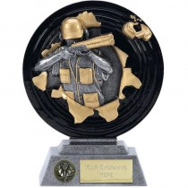 "CLAY PIGEON Shooting Trophy 5"" or 6"" FREE ENGRAVING Award"