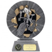 "CYCLING Trophy FREE ENGRAVING 3 Sizes 6"", 7"" or 8"" Personalised Award"