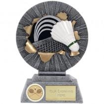 "BADMINTON Trophy FREE ENGRAVING 3.75"" or 5"" Personalised Award"